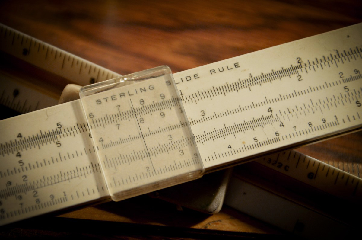 Bicycles For The Mind: The Slide Rule