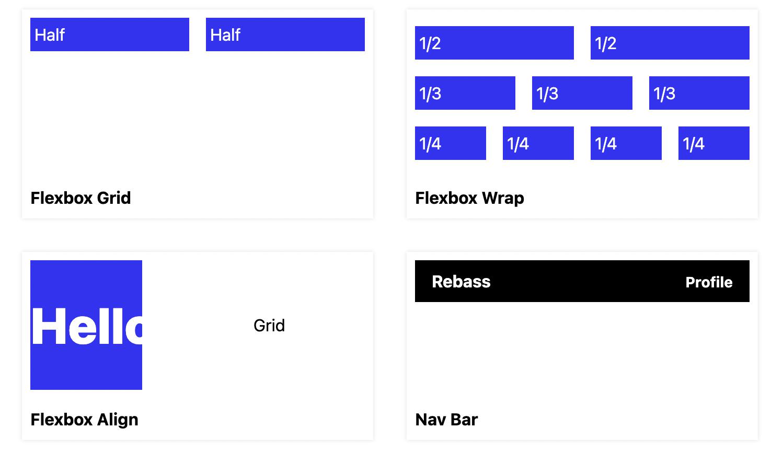 rebass-components
